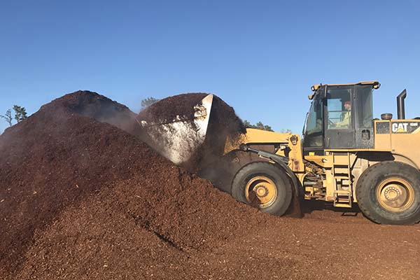 Mulch for landscaping