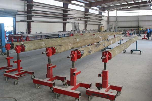 Strong-Seal Composite Piling, Poles, and Timbers